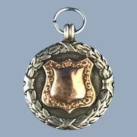English Sterling Silver Award/Fob