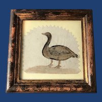 Framed Water Color by John Stocking, 1843