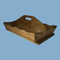 Victorian English Handmade Wood Carrier