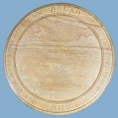 English Wooden Bread Board