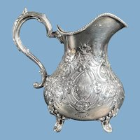 19th Century English Silver Plate Creamer