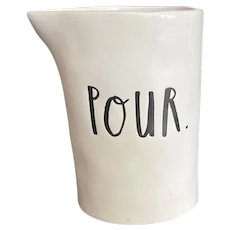 White Ceramic Creamer