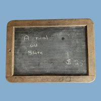 Original Slate Two-Sides Slate Chalk Board