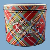 Huntley & Palmers Tin John O'Groats Shortbread