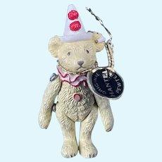 Scottish Hantel Steiff Miniature Pewter Handcrafted Bear