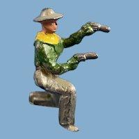 Lead Metal Toy Cowboy Figurine