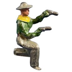 Lead Metal Toy Cowboy Figurine