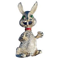 Spring Happy Rabbit Brooch