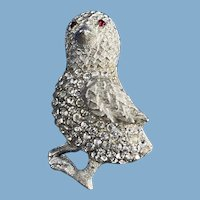 Sparkly Chick Brooch