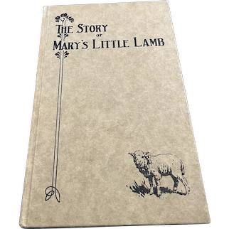 The Story of Mary's Little Lamb
