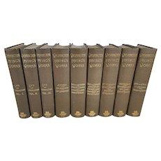The Works of Washington Irving, Nine Volumes
