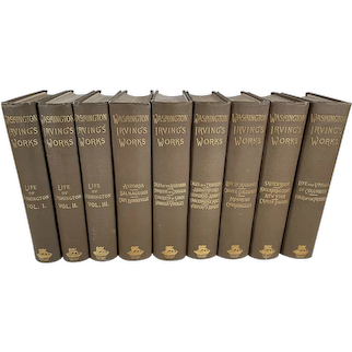 The Works of Washington Irving, Nine Volumes