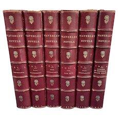 Set of Six Waverley Novels, 1871, Edinburgh