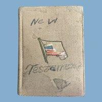 The New Testament, A Gift for Vaughn Davis, 39th Squadron, Rich Field Military Airfield