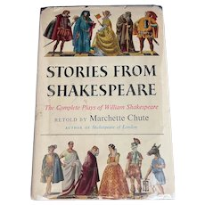 Stories from Shakespeare Retold by Marchette Chute, 1956