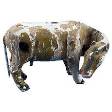 Papier-Mâché Cow