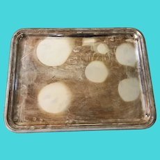 Christofle Silver Plated Serving Tray / Platter