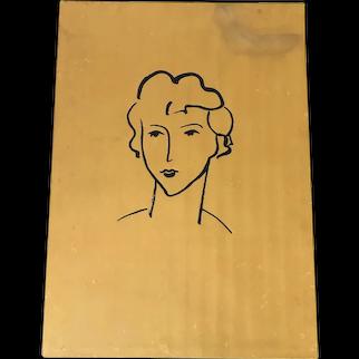 Elmyr De Hory (1906-1976) Hommages Par Elmyr Portfolio of 15 Lithographs