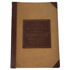 Vintage Baist's Real Estate Atlas Surveys of Washington D.C. Book Volume 2