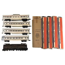 Vintage Lionel Pennsylvania Congressional 2360 2541 2542 2543 2544 Train Set