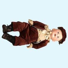 """Antique German Jutta  Bisque Baby Doll 1914 14 1/2 26"""""""