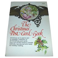 Vintage Christmas Postcard Book