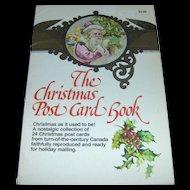 Vintage Christmas Postcard Book