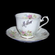 Vintage Royal Albert Mother cup and saucer