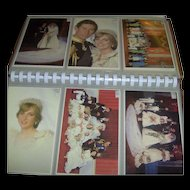 Vintage Postcard Album of the Royal Wedding 1981