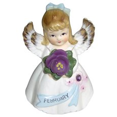 Vintage February Angel Girl