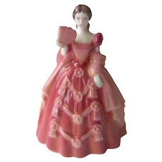 Vintage Coalport Mini Lady Figurine Harriet