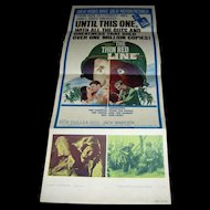 Vintage Movie Poster The Thin Red Line