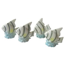 Vintage Angel Fish salt and pepper shakers