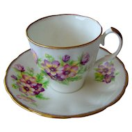 Vintage Floral Cup and Saucer by Jason