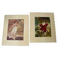Vintage Prints of Pinkie and Master Lambton