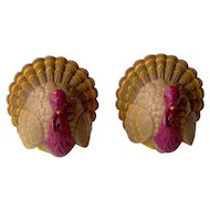 Vintage Thanksgiving Turkey Salt & Pepper Shakers