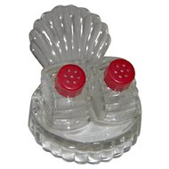 Vintage Turkey Fan Tail salt and pepper shakers