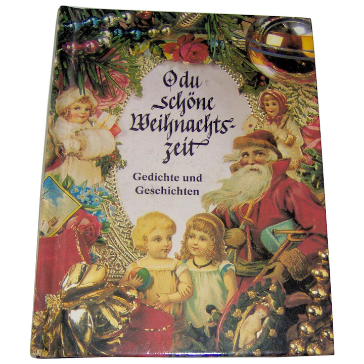 The Christmas Story Book.Vintage German Christmas Story Book