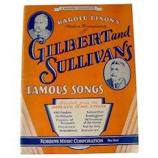 Vintage Sheet Music Book