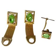 Vintage Cufflinks and tie pin set