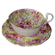 Vintage Chintz Cup and Saucer