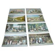 Vintage Postcards - Iroquois Indian Exhibit