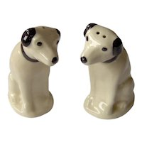 Vintage Nipper Salt and Pepper Shakers