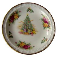 Vintage Royal Albert Christmas Magic Dish