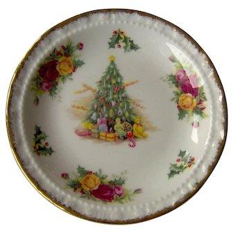 Vintage Royal Albert Christmas Magic Dish