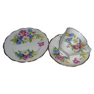 Vintage Royal Albert Harvest Bouquet Trio