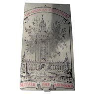 Vintage Pan American Exposition Card Holder
