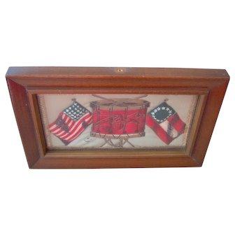Vintage Patriotic Flag Picture