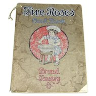 Vintage 1915 Five Roses Cook Book