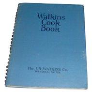 Vintage 1938 Watkins Cook Book
